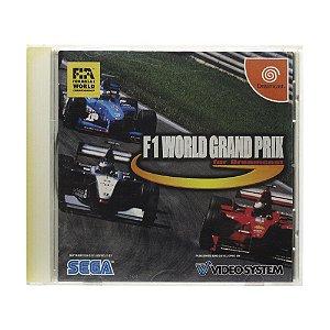Jogo F1 World Grand Prix - DreamCast (Japonês)