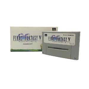 Jogo Final Fantasy V - SNES (Japonês)