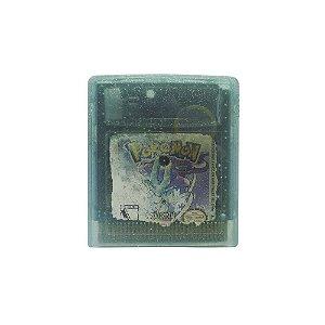 Jogo Pokémon Versão Crystal - GBC