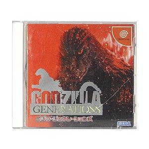 Jogo Godzilla Generations - DreamCast (Japonês)