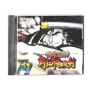 Jogo Samurai Spirits: Zankuro Musouken - Neo Geo