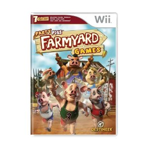 Jogo Party Pigs: FarmYard Games - Wii