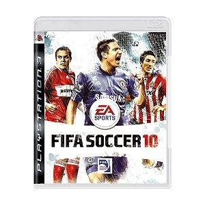 Jogo FIFA Soccer 10 - PS3