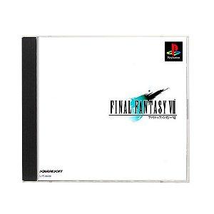 Jogo Final Fantasy VII - PS1 (Japonês)