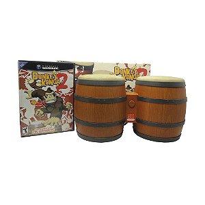 Jogo Donkey Konga 2 + DK Bongos - GameCube