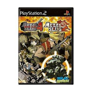 Jogo Metal Slug 4 + Metal Slug 5 - PS2
