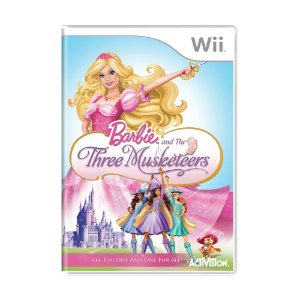 Jogo Barbie and the Three Musketeers - Wii