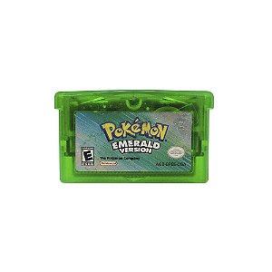 Jogo Pokémon Emerald Version - GBA