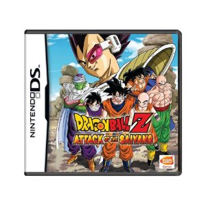Jogo Dragon Ball Z: Attack of the Saiyans - DS