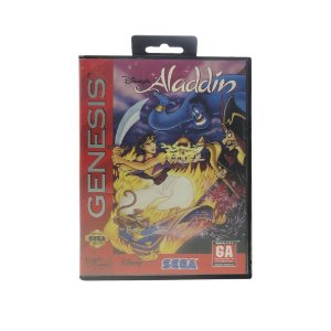 Jogo Disney's Aladdin - Mega Drive