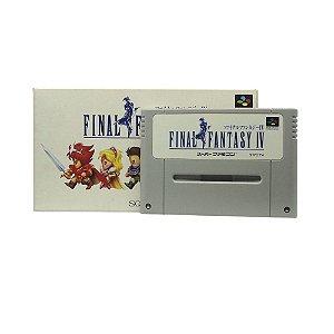 Jogo Final Fantasy IV - SNES (Japonês)