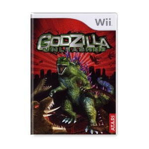 Jogo Godzilla: Unleashed - Wii