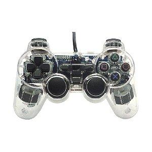 Controle PS2 RG Transparente - PS2