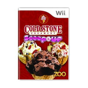 Jogo Cold Stone Creamery: Scoop it Up - Wii
