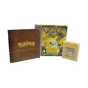 Jogo Pokémon: Versão Amarela - GBC