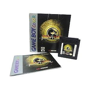 Jogo Mortal Kombat 4 - GBC