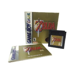 Jogo The Legend of Zelda: Link's Awakening DX - GBC