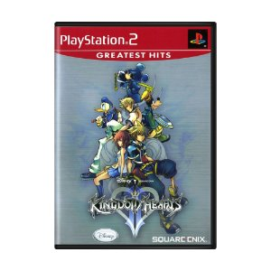 Jogo Kingdom Hearts II - PS2