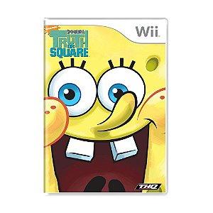 Jogo SpongeBob's Truth or Square - Wii