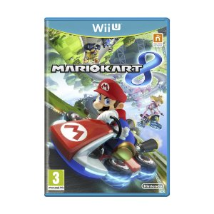 Jogo Mario Kart 8 - Wii U (Europeu)