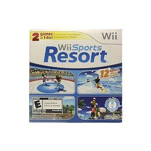 Jogo Wii Sports + Wii Sports Resort (Capa Dura) - Wii