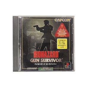 Jogo Biohazard: Gun Survivor - PS1 (Japonês)