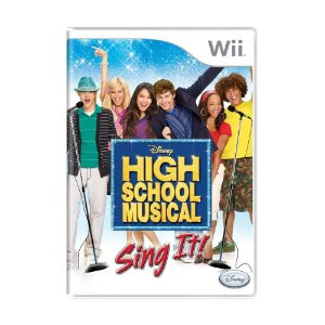 Jogo High School Musical: Sing It! - Wii