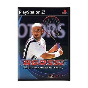 Jogo Agassi Tennis Generation - PS2