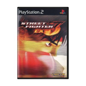 Jogo Street Fighter EX3 - PS2