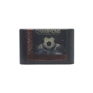 Jogo Champions World Class Soccer - Mega Drive