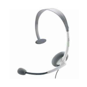 Headset Microsoft Basico Branco com fio - Xbox 360