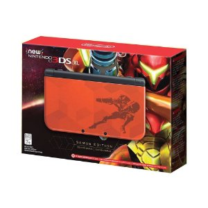 Console New Nintendo 3DS XL (Samus Edition) - Nintendo