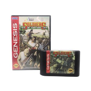 Jogo Soldiers of Fortune - Mega Drive