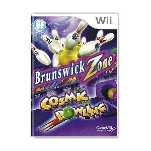 Jogo Brunswick Zone Cosmic Bowling - Wii