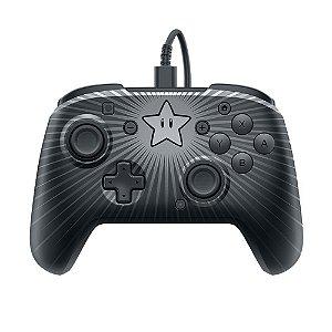 Controle Pdp Faceoff Pro Controller (Edição Super Mario Bros Star) - Switch