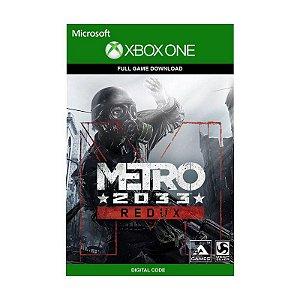 Jogo Metro 2033 Redux (Mídia Digital) - Xbox One