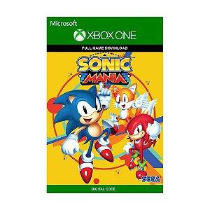 Jogo Sonic Mania (Mídia Digital) - Xbox One