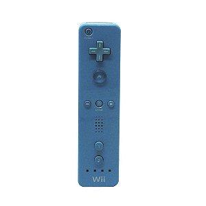 Controle Nintendo Wii Remote Azul - Wii