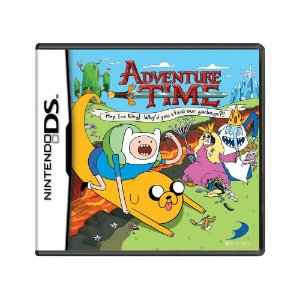 Jogo Adventure Time: Hey Ice King! Why'd You Steal Our Garbage?! - DS