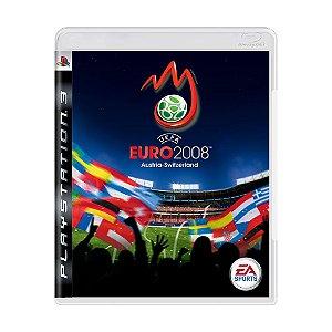 Jogo UEFA Euro 2008 - PS3