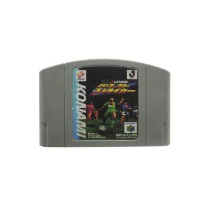 Jogo Jikkyou J.League Perfect Striker - N64 (Relabel)