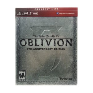 Jogo The Elder Scrolls IV: Oblivion (5TH Anniversary Edition) - PS3
