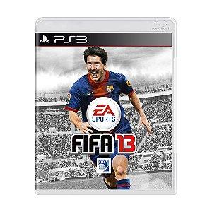 Jogo FIFA 13 - PS3