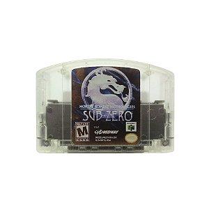 Jogo Mortal Kombat Mythologies: Sub-Zero - N64 (Relabel)