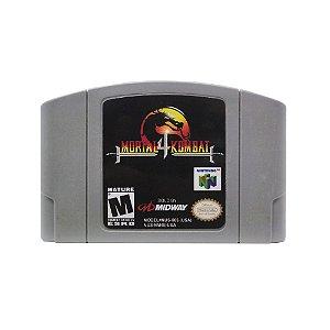 Jogo Mortal Kombat 4 - N64 (Relabel)