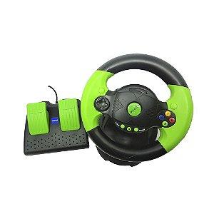 Volante Dotcom Racing Wheel DC-V50 - Xbox Classic