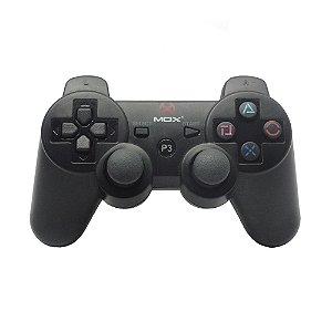 Controle Mox Preto Sem Fio - PS3