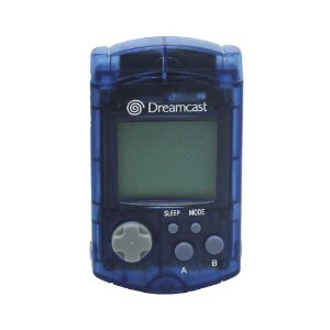 Visual Memory Unit (VMU) Azul - Dreamcast