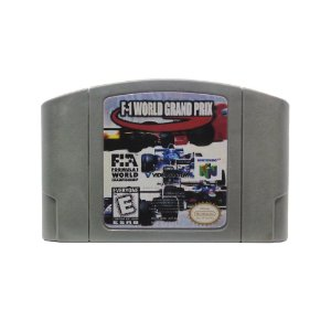 Jogo F-1 World Grand Prix - N64 (Relabel)