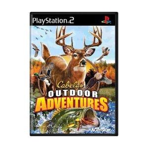 Jogo Cabela's Outdoor Adventures - PS2
